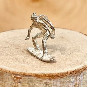 Vintage | Snowboard Charm Sterling Silver